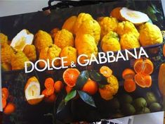 The New Dolce & Gabbana Shopping Bags!
