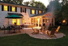 Screen Porch/Patio Columbus Ohio - Outdoor Fireplaces and Firepits Photo Gallery - Archadeck of Columbus