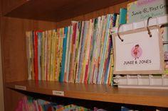 Kindergarten Kids: Organizing Your Kids' Books