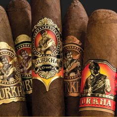 Generally known as Rolls Royce of cigars, Gurkha cigars is of extraordinary quality filled with extra richness. It comprises of complex blend of tobacco and comes in an exceptional packing. Cigars And Whiskey, Good Cigars, Pipes And Cigars, Whisky, Smokey Bones, Smoke Cloud, Cigar Art, Cigar Smoking, Smoking Pipes