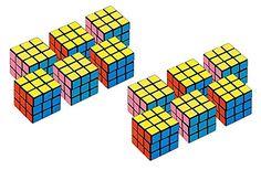 2 Set of 6 Amscan Party Favors Puzzle Mini Cube bundled b...