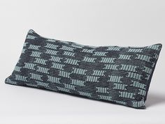 Strandline Dhurrie Pillow | Decorative Pillows | Bed | Coyuchi