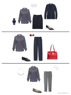 Build a Capsule Wardrobe in 12 Months, 12 Outfits - August 2017 - The Vivienne Files Capsule Wardrobe How To Build A, Wardrobe Basics, Wardrobe Capsule, Wardrobe Ideas, Piece Of Clothing, Clothing Items, August Outfits, Cool Winter Color Palette, The Vivienne