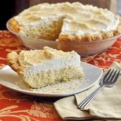 The Absolute Best Coconut Cream Pie - from a decades old family recipe that just can't be beat.