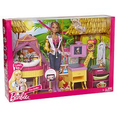 Barbie Zoo Doctor I can be Mattel Baby Play House, New Dolls, Barbie Collector, Birthday List, Mattel Barbie, Miniature Furniture, Fashion Dolls, I Can, Miniatures