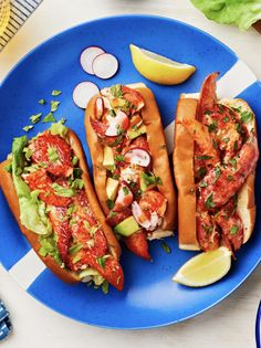 3 Lobster Roll Recipes To Try at Home Lobster Roll Recipes, Avocado Roll, Hello Fresh Recipes, How To Cook Lobster, Seafood Dinner, Rolls Recipe, The Fresh, Hot Dog Buns, Kids Meals