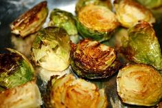 Roasted Brussel Sprouts.