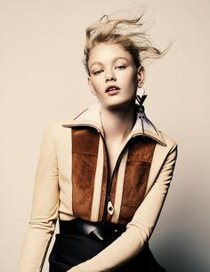 Hollie-May Saker – Vogue Netherlands Sept 2014 by Marc de Groot