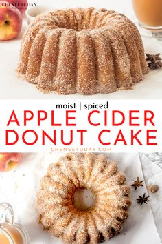 The best of all homemade apple bundt cake recipes! An easy, moist cinnamon spiced apple cider doughnut cake recipe with fresh raw apples, easy cinnamon sugar coating, brown sugar, sour cream, apple cider, Granny Smith apples, and the flavor of fresh apple cider donuts! A simple, old-fashioned apple pound cake recipe for autumn! #applecake #freshapplecake #bundtcake #poundcake #appleciderdonuts #applebundtcake #applecinnamon #cinnamonsugar Apple Cider Donut Cake Recipe, Apple Bundt Cake Recipes, Apple Cinnamon Cake, Fresh Apple Cake, Apple Spice Cake, Apple Cider Donuts, Apple Desserts, Cinnamon Cake Recipes, Fall Cake Recipes