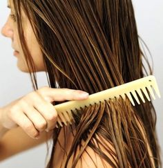 Softer, longer hair? Coconut oil will do wonders. 2 spoonfuls of coconut oil, heat up in a bowl for 30 seconds, massage in to scalp, then apply it into your hair, leave it on for about an hour and a half. Wash your hair by shampooing, then conditioning, then shampooing again. Notice you will have softer, healthier hair. Do this once a week for healthy long hair. gotta try this.
