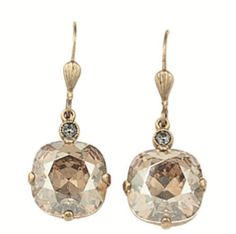 Shop soirée at lyonhollis.com for elegant, party perfect jewels. We like these pretty Champagne Drop earrings for your New Year's bash. Cheers!