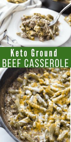 casserole lowcarb perfect comfort ground recipe single hearty youll every keto easy this bite love This Keto Ground Beef Casserole is the perfect comfort dish Easy to make and hearty youll love eYou can find Keto beef recipes and more on our website Ketogenic Recipes, Low Carb Recipes, Diet Recipes, Healthy Recipes, Ketogenic Diet, Recipes Dinner, Low Carb Hamburger Recipes, Crockpot Recipes, Dessert Recipes