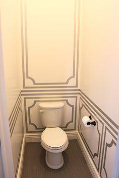 The Casablanca Transformation: Master Bath Toilet Room Transformation!