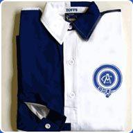 Atletico Madrid 1903-11 Blue and White Retro Shirt