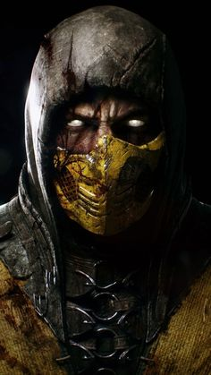 Scorpion Mortal Kombat X Mortal Kombat X Scorpion, Sub Zero Mortal Kombat, Art Mortal Kombat, Mortal Kombat Tattoo, Deadpool Wallpaper, Marvel Wallpaper, Hd Wallpaper, Gas Mask Art, Masks Art