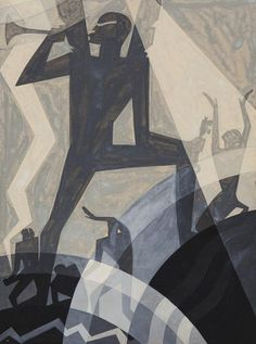 The Judgment Day, 1927 by Aaron Douglas