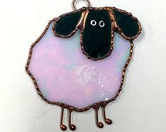 Stained Glass Sheep