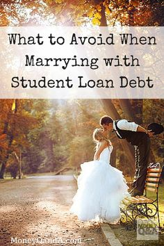 It can be tricky navigating issues like student loans and marriage when your partner has a significantly higher student loan debt burden than you do.