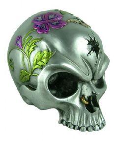 Pierced - Skull [NEM5617] - £9.99 : The Mountain T Shirts UK, Nemesis Now, Alchemy Gothic and Demonia Gift Shop, Nemesis Now, Mountain T shirts, Alchemy Gothic, Demonia footwear