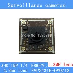 "$19.14 (Buy here: https://alitems.com/g/1e8d114494ebda23ff8b16525dc3e8/?i=5&ulp=https%3A%2F%2Fwww.aliexpress.com%2Fitem%2FAHD-1000TVL-surveillance-cameras-night-vision-1-3MP-4-3mm-pinhole-lens-1MP-Coaxial-1-4%2F32673636210.html ) AHD 1000TVL surveillance camera night vision 1.3MP 4.3mm pinhole lens 1MP Coaxial 1/4 ""CMOS NVP2431H + OV9712 chip Camera Module for just $19.14"