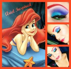 Ariel Inspired...colors of the sea