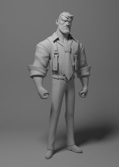 Sam Rockwell by Leonardo Rezende | Cartoon | 3D | CGSociety
