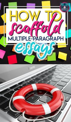 How to Scaffold Multiple-Paragraph Essays in the secondary classroom! Teach middle school and high school english students how to effectively write essays. A great essay writing article for differentiation and writing scaffolding! Writing Strategies, Writing Lessons, Teaching Strategies, Essay Writing, Art Lessons, Teaching Skills, Academic Writing, Writing Ideas, Writing Skills