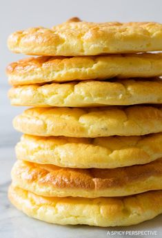 Cloud Bread is delicious, Low Carb, Low Fat, Gluten Free, and Grain Free... The Best Cloud Bread Recipe is a must-make this diet season!e #lowcarb #glutenfree #grainfree
