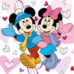 Mickey and Minnie Mouse Mickey Minnie Mouse, Mickey And Minnie Love, Mickey Mouse Images, Mickey Mouse Cartoon, Mickey Mouse And Friends, Les Looney Tunes, Image Mickey, Embroidery Designs, Embroidery Files
