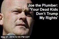 Joe the Plumber Makes Insensitive Comments