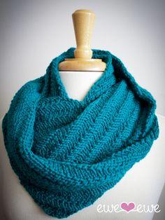 Art Ewe Ewe Yarns Happy Cowl Knitting Pattern crochet-and-knitting-ideas Online Yarn Store, Knit Cowl, Knitted Cowls, Cowl Scarf, Yarn Shop, Trends, Knitting Patterns, Cowl Patterns, Knitting Ideas