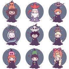 Meu Deus do céu!vontade de guardar esses personagens numa caixinha(com furos pra eles respirarem,kkk)