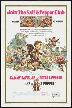 Salt and Pepper poster. Art by Jack Davis