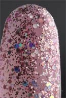D146: Sprinkle Me Gorgeous - Jacqueline Burchell Soak Off Gel Nail Polish