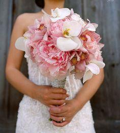 Beautiful Wedding bouquet pink   bruilof   roze   bruidsboeket