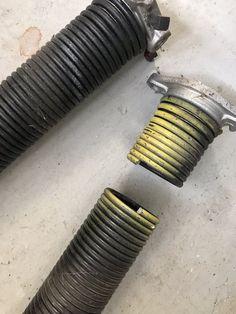 Broken Spring Garage Door Spring Repair Garage Door Springs Garage Spring