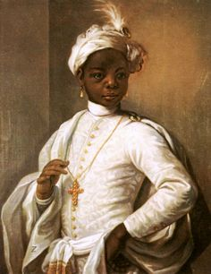 medievalpoc:  Alessandro Longhi Portrait of a Young Black Man Italy (c. 1760s) Oil on Canvas, 75 x 65cm. The Image of the Black in Western Art Research Project and Photo Archive, W.E.B. Du Bois Institute for African and African American Research, Harvard University [x] [x]