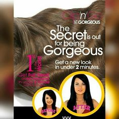 The secret to long hair!! Get #length #volume and #style that too in under #2minutes  Discover the magic of Be Gorgeous Clip-on Extensions  #begorgeous #ilovebg #longhair #voluminous #hairextensions #begorgeoushairextensions #begorgeouspro