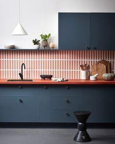 98 Wonderful Modern Kitchen Style ~ Top Home Design Kitchen Interior, New Kitchen, Kitchen Decor, Kitchen Ideas, Kitchen Trends, Kitchen Designs, Kitchen Tips, Orange Kitchen, Stylish Kitchen