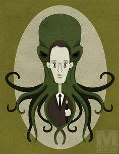H. P. Lovecraft by Meghan Murphy