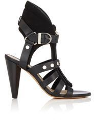 IRO Women's Studded Xilly Sandals-Black