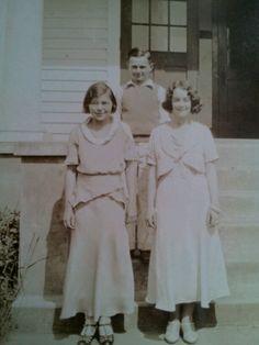 Pedee School/Pedee, Oregon My Grandmother front left