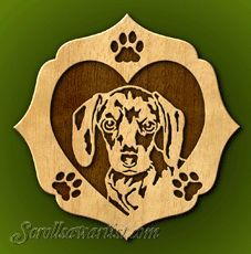 free scroll patterns of dogs | Scroll Saw Patterns :: Cats & Dogs :: Dogs :: Dog portraits :: Daizy -