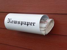 Newspaper holder