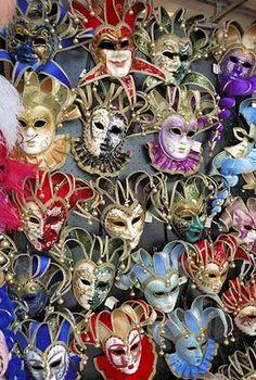Carnaval de Veneza e suas máscaras. | Viaje no Detalhe