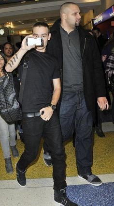 Liam in the NY airport this week!!!