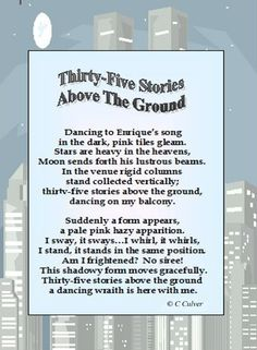 My Poem - Thirty-Five Stories Above The Ground