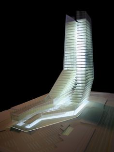 Architectural Model | SONGDO OFFICE TOWER - Incheon, Korea - DRDS Architects