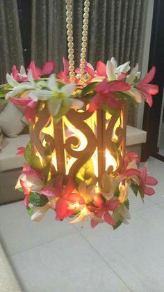Diy Diwali Decorations, Festival Decorations, Flower Decorations, Diwali Diya, Diwali Craft, Diy Home Crafts, Decor Crafts, Sky Lamp, Diwali Lantern