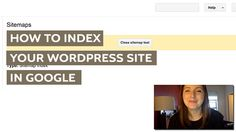 How to Index Your WordPress Website in Google [VIDEO]